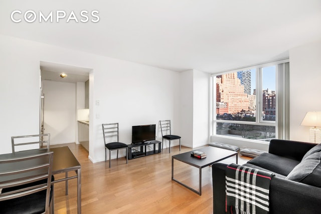 THE premier 1 bedroom line in one of Tribeca's most prestigious condominiums, 200 Chambers Street! This luxurious 1Bed/ 1Bath with Bosch W/D is situated in the heart of Tribeca and features beautiful finishes with floor-ceiling picture windows, oak wide-plank floors, stone counter tops, top-of-the-line Sub-Zero and Viking appliances, a marble bath, and excellent closet space. Light pours into the apartment all day long from a wall of Eastern facing windows and the views are equally impressive. This full-service, white-glove condominium is complete with 24-hour doorman and concierge, a glass atrium indoor swimming pool, garden, children's playroom, fitness center, lounge with private boardroom, a newly renovated rooftop deck, and on-site parking. Completing the picture is the extremely close proximity to the 1,2,3,A,C,E subways and some of Tribeca's most popular restaurants in Palm, Bouley, Marc Forgione, North End Grill, and Locanda Verde to name a few as well as every day conveniences in Whole Foods, Soul Cycle and Bed Bath & Beyond.